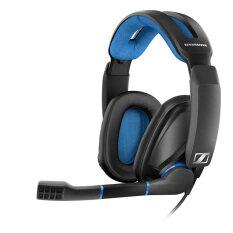 Sennheiser หูฟัง รุ่น GSP 300 Gaming Headset ขนาด Full-Size มี Microphone ในตัว (สีดำ)