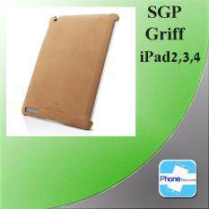 SGP Griff Leather Grip Case Back cover For  iPad 2,3,4 - Original