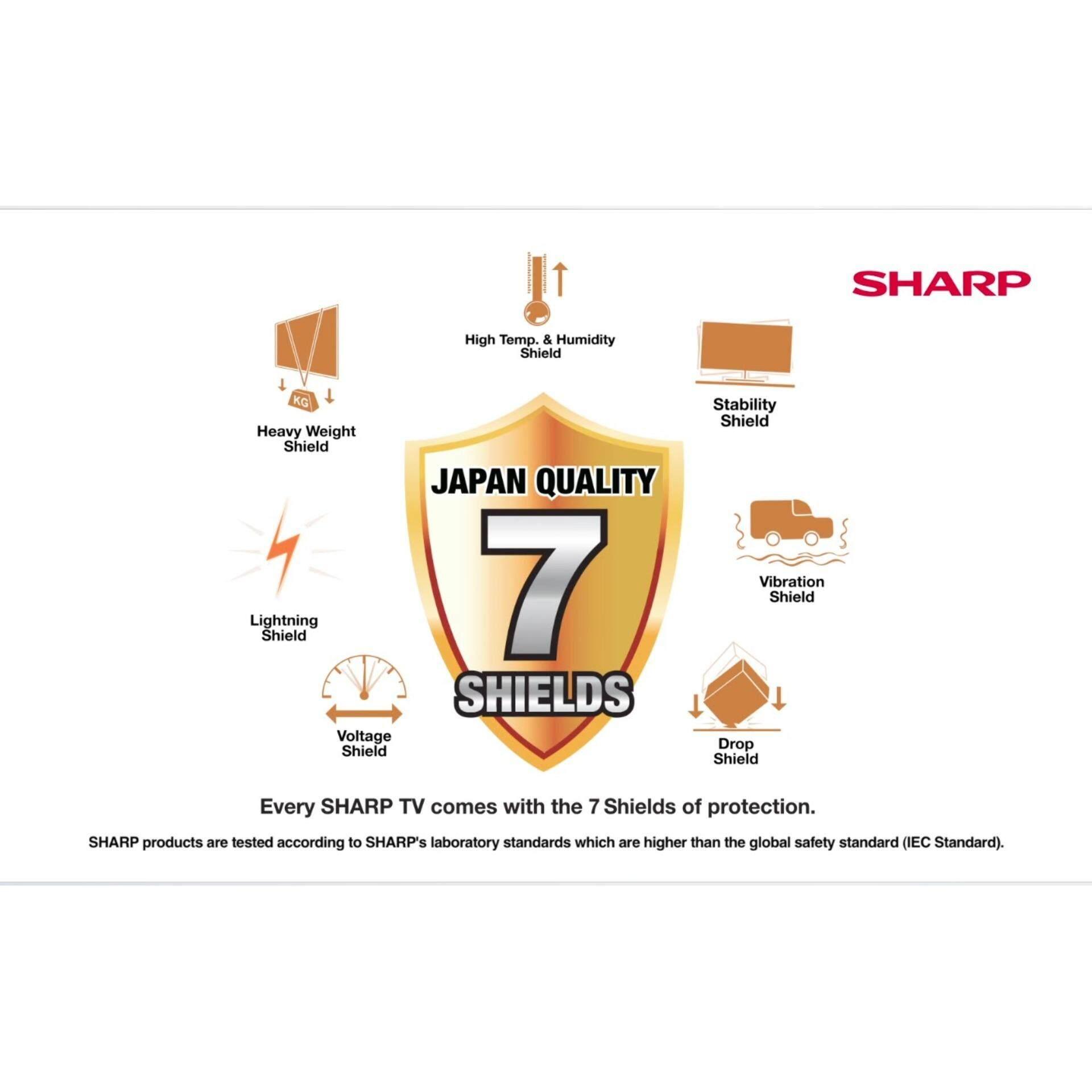 เทียบราคา SHARP HD LED TV ขนาด 32 นิ้ว รุ่น LC-32LE180M (BLACK
