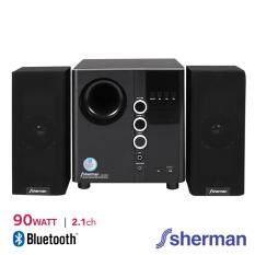 Sherman ชุดลำโพง Active 2.1 Ch (Bluetooth) รุ่น SB-55B2B (สีดำ)
