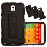 ราคา Shockproof Heavy Duty Protection Hybrid Full Body Rugged Case Rubber Dual Layer Holster Cover For Samsung Galaxy Note 3 N9000 With Kickstand Intl ใน ฮ่องกง