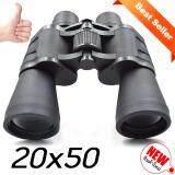 Shop108 Hd Outdoor Telescope กล้องส่องทางไกลเลนส์คู่คุณภาพสูง Hd 20X50 Black Series ถูก
