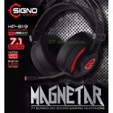 ซื้อ Signo E Sport 7 1 Surround Sound Vibration Gaming Headphone รุ่น Magnetar Hp 819 Black ออนไลน์