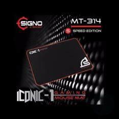 ราคา ราคาถูกที่สุด Signo E Sport Gaming Mouse Mat Iconic 1 รุ่น Mt 314 Speed Edition