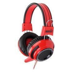 ราคา Signo Gaming Headphone รุ่น Hp 803R Red ออนไลน์ Thailand