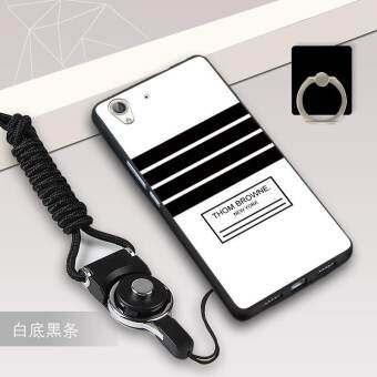 แนะนำ Silica Gel Soft Phone Case for Huawei Y6 II Huawei Honor 5A with a Rope