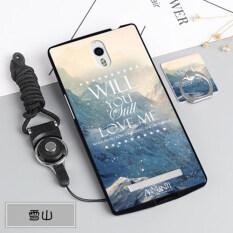 ขาย Silica Gel Soft Phone Case For Oppo X9007 Find 7 With A Rope And A Ring Multicolor อังกฤษ ถูก