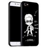 โปรโมชั่น Silica Gel Soft Phone Case For Vivo Y53 Multicolor