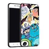 ซื้อ Silica Gel Soft Phone Case For Vivo Y55 Multicolor ถูก