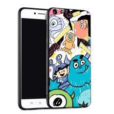 ขาย ซื้อ ออนไลน์ Silica Gel Soft Phone Case For Vivo Y55 Multicolor