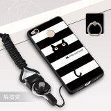ส่วนลด Silica Gel Soft Phone Case For Xiaomi Redmi 4X With A Rope And A Ring Multicolor Buildphone