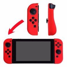 ซิลิโคนป้องกันกรณีสำหรับ Nintendo Switch - สีแดง - Intl By Shop4fun.