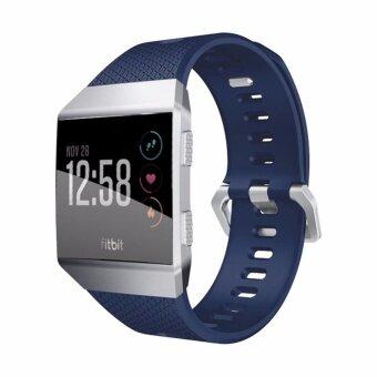 ยางซิลิโคนนุ่มสายรัดข้อมือนาฬิกาสายคล้องคอสำหรับนาฬิกา Fitbit อิออนอัจฉริยะ-นานาชาติ
