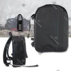 Sinlin กระเป๋ากล้อง เป้สะพายหลัง กันน้ำ Camera Bag Backpack Waterproof DSLR Case For Canon/Nikon/Sony รุ่น CMR02-FD (Black-Green)