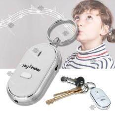 Sinlin พวงกุญแจกันหาย กันลืม ระบบผิวปาก พร้อมไฟLED Key Finder