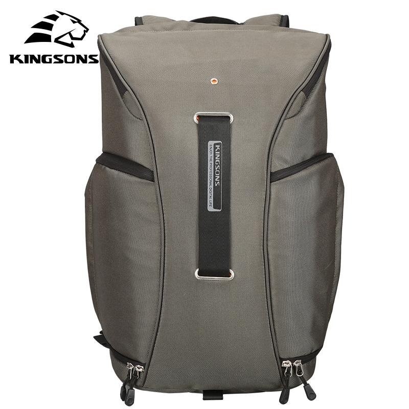 Authorized distribution Kingsons 15.6 Inch Digital DSLR Photo Padded Backpack W/ Rain Cover Waterproof Camera Video Soft Bag