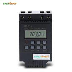 ซื้อ Sinotimer 220V Lcd Digital Weekly Programmable Control Power Timer Switch Time Relay Intl ใน จีน
