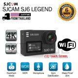 Sj6 Legend 4K Wifi Action Camera 16Mp Gyro Stabilization Waterproof สีดำ ใน กรุงเทพมหานคร