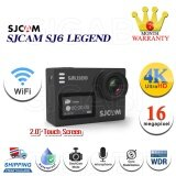 ราคา Sj6 Legend 4K Wifi Action Camera 16Mp Gyro Stabilization Waterproof สีดำ เป็นต้นฉบับ