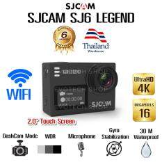 SJ6 LEGEND 4K WiFi Action Camera / 16MP / Gyro Stabilization / Waterproof /  สีดำ