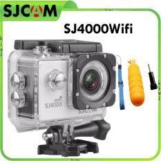 SJCAM Action camera ,Car camera ,Sport camera ,Weterproof cam SJCAM SJ4000 Wifi และ ทุ่นลอยน้ำ GP82