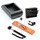 ราคา Sjcam Battry 900Mah External Charger Monopod Selfie Sj4000 Sj5000 ราคาถูกที่สุด