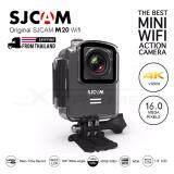 ส่วนลด Sjcam กล้อง Action Camera รุ่น Sjcam M20 ความละเอียดสูงระดับ 4K มีไวไฟและบลูทูธในตัว Black Sjcam ใน กรุงเทพมหานคร