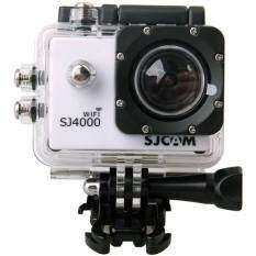 SJCAM  กล้อง actioncamera กันน้ำ รุ่น SJ4000 Wifi - สีขาว
