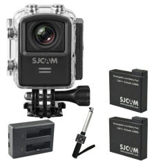 SJCAM M20 (Model 2016) (Red) + (x2 Battery) + Dual Charger +Selfie with Remote