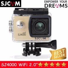 ซื้อ Sjcam Sj4000 Wi Fi 12Mp Model 2016เมนูไทย จอ2 0นิ้ว Black ออนไลน์ ไทย