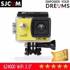 SJCAM SJ4000 Wi-Fi 12MP Model 2016เมนูไทย จอ2.0นิ้ว(Yellow)
