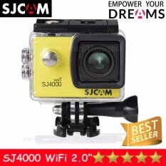 ทบทวน Sjcam Sj4000 Wi Fi 12Mp Model 2016เมนูไทย จอ2 0นิ้ว Yellow Sjcam