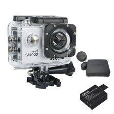 SJCAM SJ4000 Wi-Fi 12MP Model 2016เมนูไทย จอ2.0นิ้ว(White) (+ Battery+ Cover Lens)