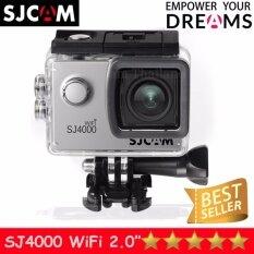 SJCAM SJ4000 Wi-Fi 12MP Model 2018เมนูภาษาไทย(Silver)