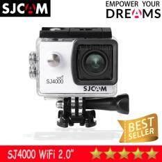 SJCAM SJ4000 Wi-Fi 12MP Model 2018เมนูภาษาไทย(White)
