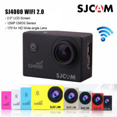 SJCAM SJ4000 WiF-จอ 2.0นิ้ว Model 2016 (Yellow)