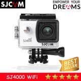ซื้อ Sjcam Sj4000 Wifi 2 0นิ้วModel 2018 White ออนไลน์ ไทย
