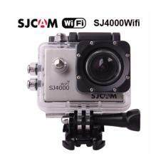 Action cam Car camera กล้องแอ็คชั่นแคม ,กล้องติดรถยนต์,กล้องติดหมวกกันน็อค ,กล้องถ่ายใต้น้ำ SJCAM SJ4000 WiFi (SILVER)