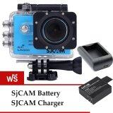 Sjcam Sj5000 Wifi 14Mp Blue Battery Charger เป็นต้นฉบับ