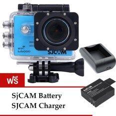 SJCAM Sj5000 WiFi 14MP (Blue) (+Battery+Charger)