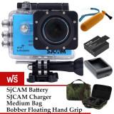 ซื้อ Sjcam Sj5000 Wifi 14Mp Blue Battery Charger Bobber Mediumbag Sjcam