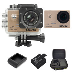 SJCAM Sj5000 WiFi 14MP - Gold (+Battery+Charger+MediumBag)