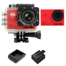 SJCAM Sj5000 WiFi 14MP - Red (+Battery+Charger)