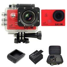 SJCAM Sj5000 WiFi 14MP - Red (+Battery+Charger+MediumBag)