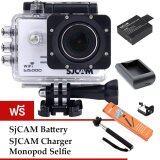 โปรโมชั่น Sjcam Sj5000 Wifi 14Mp White Battery Charger Monopod ไทย