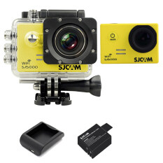 ขาย Sjcam Sj5000 Wifi 14Mp Yellow Battery Charger Sjcam ถูก