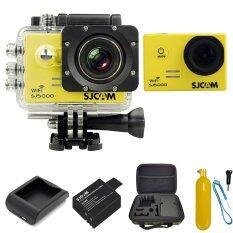 SJCAM Sj5000 WiFi 14MP - Yellow (+Battery+Charger+Bobber+MediumBag)