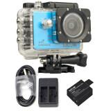 ราคา Sjcam Sj5000X Elite 4K Gyro Blue Extra Battery Dual Charger ใหม่