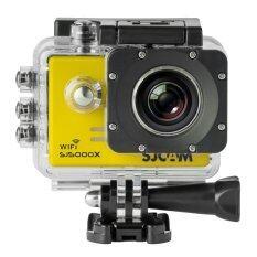 ราคา Sjcam Sj5000X Elite 4K Gyro Yellow Sjcam เป็นต้นฉบับ