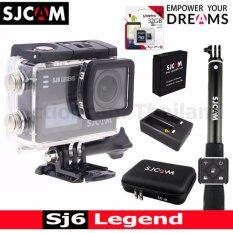 SJCAM SJ6 LEGEND 4K,16Mp เมนูไทย(BLACK)+Kingston32GB+Battery+DualCharger+BAG(L)+RemoteSelfie
